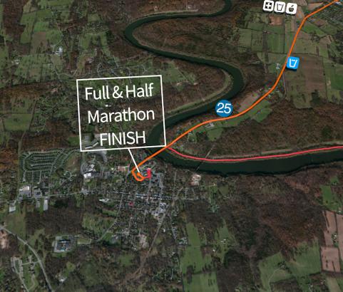 3D Marathon Course